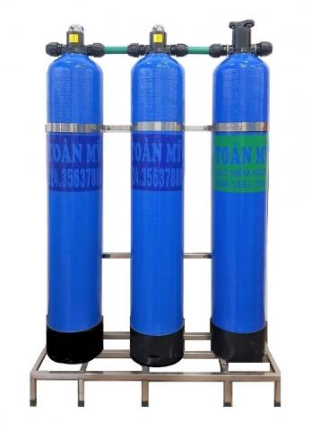 Bộ lọc nước giếng hệ 3 bình LM - 04ABC