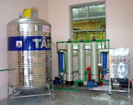 Dàn lọc nước tinh khiết công suất 400 lít/H