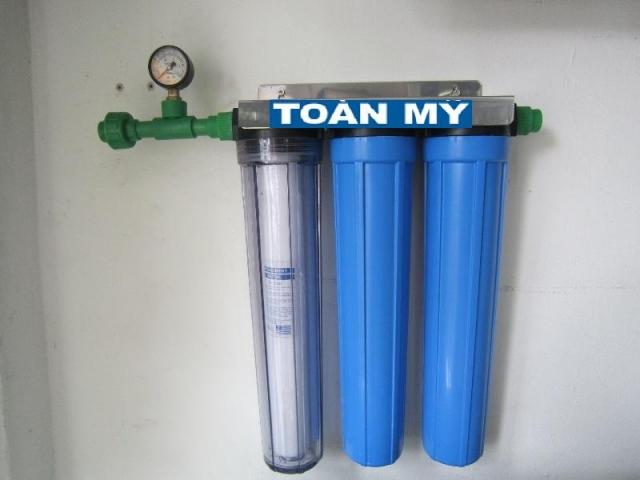 Lọc nước máy, lọc đầu nguồn
