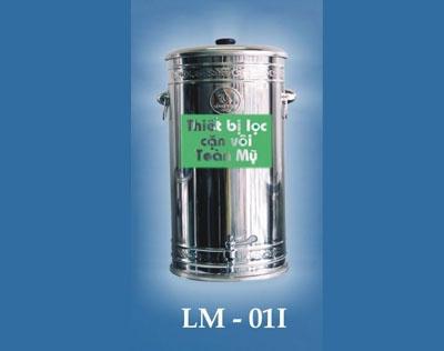 Thiết bị lọc cặn vôi: MODEL LM - 02I