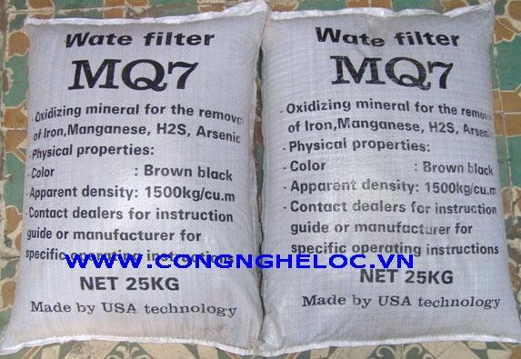 Vật liệu lọc MQ7 tốt nhất cho bể lọc giếng khoan